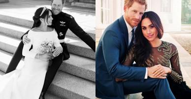 Anh công bố ảnh cưới chính thức của Hoàng tử Harry – Công nương Meghan