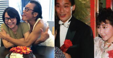 Tình 31 năm vẫn nồng của Lương Gia Huy và bà xã kém sắc