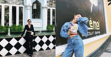 Hot girl Việt xuống phố với phong cách gì trong tuần qua?