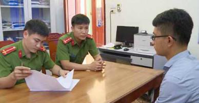 Bắt cán bộ giả chữ ký lãnh đạo huyện làm khống hồ sơ