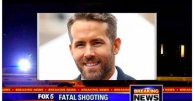Sự thật về thông tin Deadpool Ryan Reynolds bị bắn chết lan truyền rầm rộ trên mạng