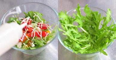 [Chế biến] – Salad rau quả thanh mát cho ngày nắng lên