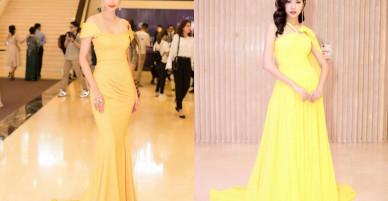 Ngắm nhìn loạt mỹ nhân Việt lăng xê màu vàng chanh rực rỡ