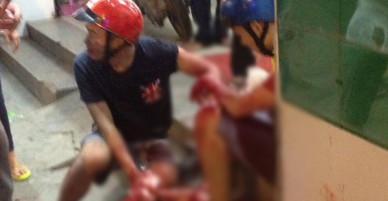Truy đuổi kẻ cướp, 2 nam thanh niên bị đâm trọng thương trên phố Sài Gòn