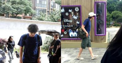 """Sau bê bối """"bám"""" thảm đỏ Cannes tới 9 phút, Vương Lệ Khôn lại lộ ảnh đi du lịch cùng Lâm Canh Tân"""