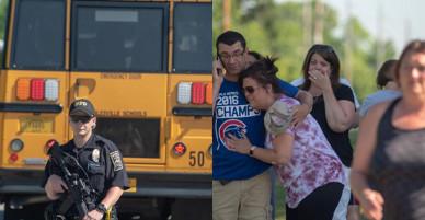Thầy giáo Mỹ lao mình vào tay súng cứu cả lớp học
