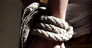 Người phụ nữ bị trói chân kêu cứu giữa đường ở Đồng Nai