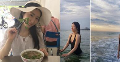 Mỹ nhân Hàn vui chơi ở Đà Nẵng dù bị fan Việt tẩy chay
