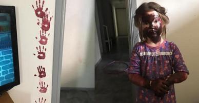Để con tự chơi trong nhà 15 phút, bà mẹ mất 3 năm để để xóa sạch dấu tay con in lên khắp nhà