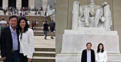Rộ ảnh anh em Thaksin, Yingluck ở Mỹ, giới chức Thái Lan vội vã vào cuộc