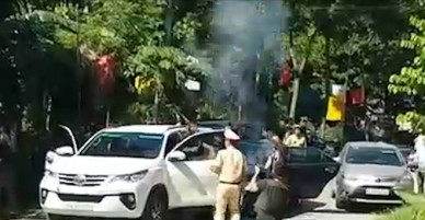 Cảnh sát nổ súng bắt hai nghi phạm buôn ma túy ở Nghệ An - VnExpress