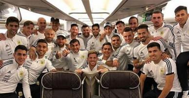 Messi và đồng đội mang 10 tấn hành lý đến World Cup 2018