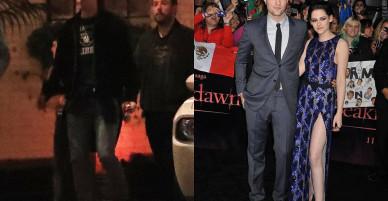 """Kristen và Robert đã bị """"tóm"""" được những bức ảnh đầu tiên khi gặp lại nhau!"""