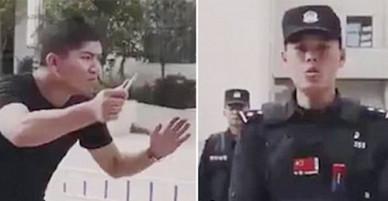 TQ: Cảnh sát hướng dẫn chống kẻ tấn công bằng dao và diễn biến bất ngờ