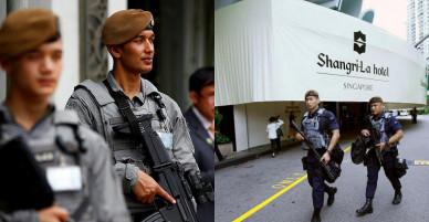 Singapore triển khai biệt đội tinh nhuệ bảo vệ lãnh đạo Mỹ-Triều