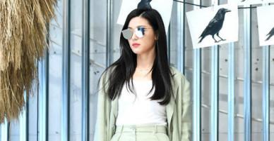 Mợ chảnh Jeon Ji Hyun mảnh mai sau 5 tháng sinh con