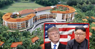 Bên trong nơi diễn ra cuộc gặp lịch sử giữa Donald Trump và Kim Jong Un