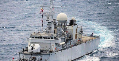 """Tàu Trung Quốc bị """"tố"""" bám đuổi tàu Pháp trên Biển Đông"""