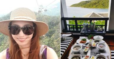 Búp bê xứ Hàn Han Chae Young khoe ảnh du lịch Bà Nà