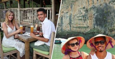 Chuyến du lịch Việt Nam - Thái Lan sành như người bản địa của sao MU