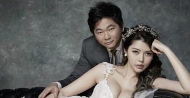 Siêu mẫu Đài Loan khoe ảnh cưới với tỷ phú