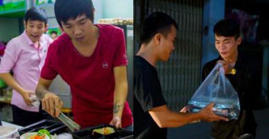 Dịch vụ giao thức ăn đêm ở Sài Gòn tăng cường hoạt động đến gần 3h sáng trong mùa World Cup