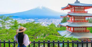 6 điểm chụp ảnh núi Phú Sĩ giống hệt postcard