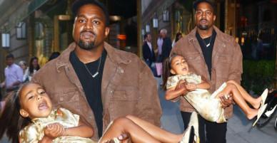 Được tổ chức sinh nhật ở nhà hàng sang trọng, con gái Kim lại bất ngờ quấy khóc ầm ĩ trên phố