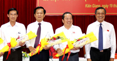 Phó chủ tịch Kiên Giang làm Bí thư huyện Phú Quốc