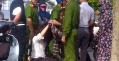 Giải cứu cô gái nghi bị đánh ghen giữa đường ở Thanh Hóa