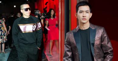 Vũ Khắc Tiệp và gà cũ Võ Cảnh cùng dự Milan Fashion Week