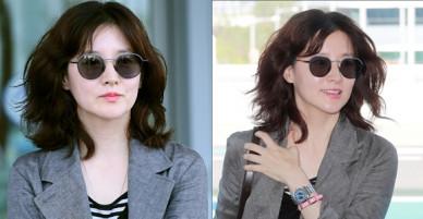 Nữ thần Lee Young Ae bất ngờ xuất hiện ở sân bay, gây thương nhớ vì vẻ đẹp huyền thoại không đổi
