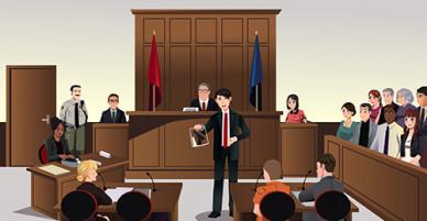 Thẩm phán nước ngoài điều hành phiên tòa thế nào?