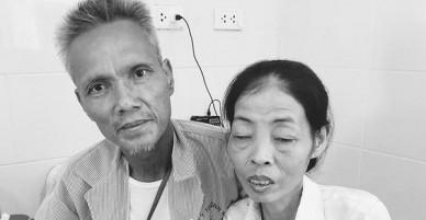 Thêm một nỗi đau trong câu chuyện bánh đúc có xương: Con mất được 2 tháng, dì ghẻ lại lặn lội đưa chồng ra Hà Nội cũng vì căn bệnh ung thư