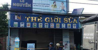 Vụ cháy cửa hàng Thế giới sữa ở Sài Gòn: Thêm người vợ tử vong