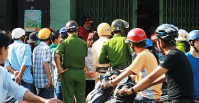 Gã chồng ở Nha Trang cố thủ nhiều giờ sau khi sát hại vợ