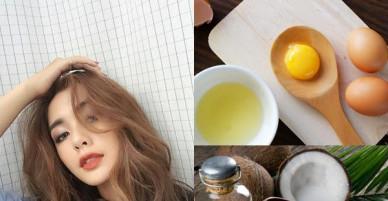 Mở ngay tủ lạnh lấy vài quả trứng làm theo cách này, bạn sẽ có ngay mặt nạ giúp mái tóc thêm bồng bềnh