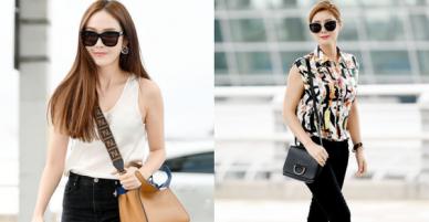 Màn đọ sắc hiếm hoi của mỹ nhân 2 thế hệ: Jessica đẹp bất ngờ, mẹ Kim Tan trẻ khó tin nhưng diện gì thế này?