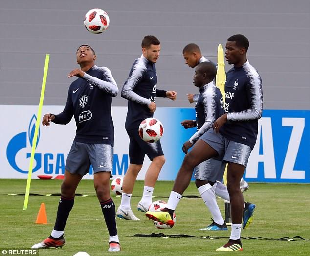 chuẩn bị, World Cup, World Cup 2018, Pháp, Uruguay, tin8, hình ảnh, thi đấu, vòng tứ kết