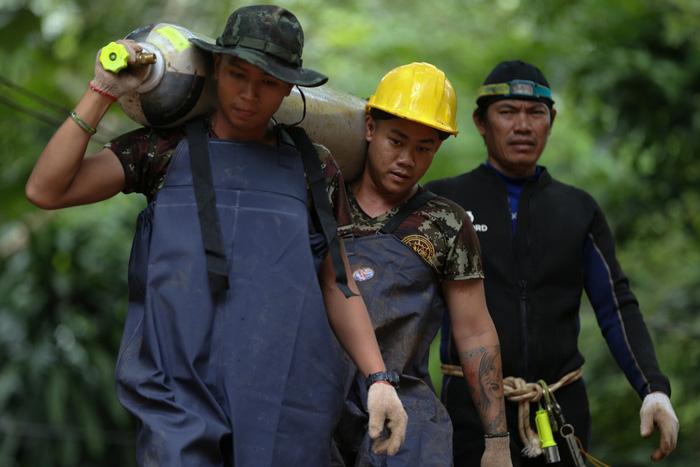 giải cứu, Thái Lan, đội bóng, thiên tai, khó khăn, tử vong,tin8