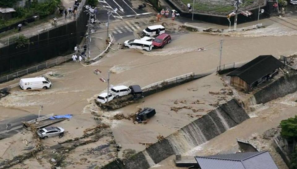 lũ lớn, Nhật Bản, thiên tai, thiệt mạng, thiệt hại, chết, tin8