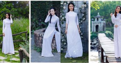 Các bí quyết chọn áo dài trắng cho nữ sinh