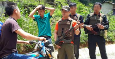 Công an cắm chốt bảo vệ người dân ở thung lũng ma túy Tà Dê