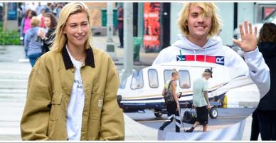 Justin Bieber tiếp tục lấy điểm khi đưa Hailey Baldwin về thăm phụ huynh bằng trực thăng!