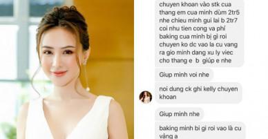 Kelly Nguyễn inbox Huyền Baby mượn tiền: Cẩn thận, là hacker đấy!