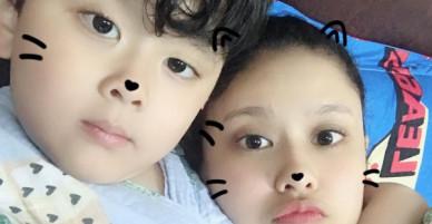 Khoe ảnh với con trai, Trương Quỳnh Anh khẳng định không cần gì khi Tim xác nhận chuyện ly hôn