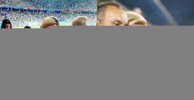 Ảnh: Cách đặc biệt mà nữ Tổng thống Croatia cổ vũ đội bóng nước nhà