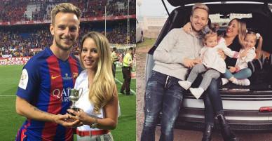 Cô vợ xinh đẹp của siêu sao tuyển Croatia gây sốt trước chung kết World Cup