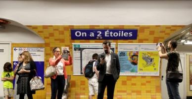 Pháp đổi tên ga tàu điện ngầm để mừng vô địch World Cup