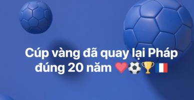 Bùng nổ không khí ăn mừng chiến thắng của Pháp tại World Cup 2018 từ MXH đến các đường phố